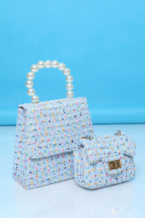 Mini Must Have Purse - Blue