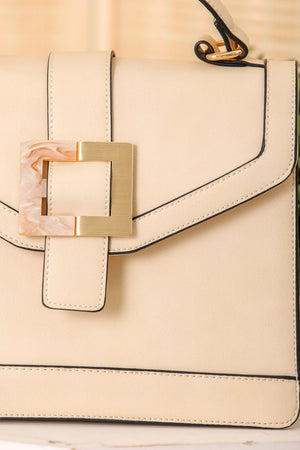 You Got This Resin Buckle Purse - Off-White