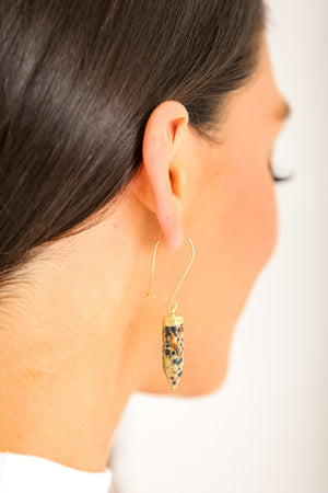 Love Is All We Need Stone Drop Earrings