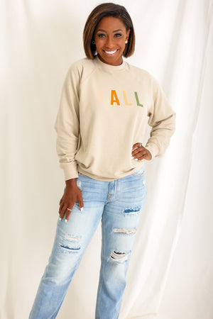 Fall Graphic Sweatshirt