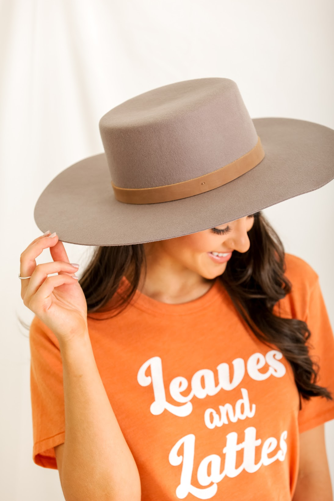 Live in the Sunshine Wool Wide Brim Hat