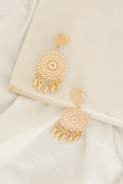 Dreamcatcher Dangling Earrings