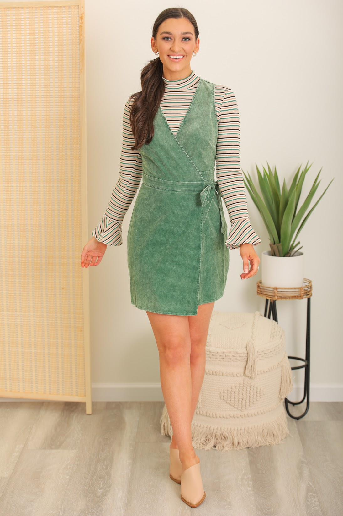 Uniquely Loveable Corduroy Dress