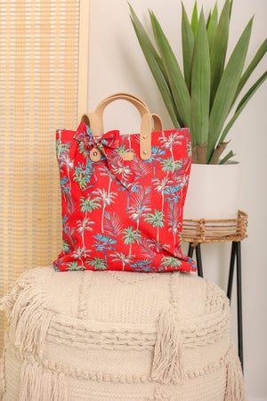 Dream Vacation Tropical Palm Tree Purse