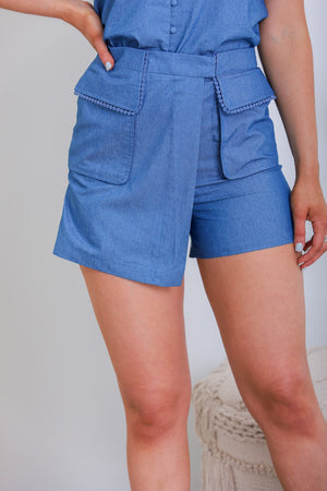 Keep Your Cool Denim Shorts
