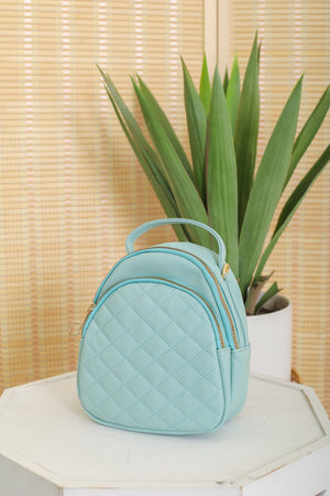 Class It Up Quilted Mini Backpack
