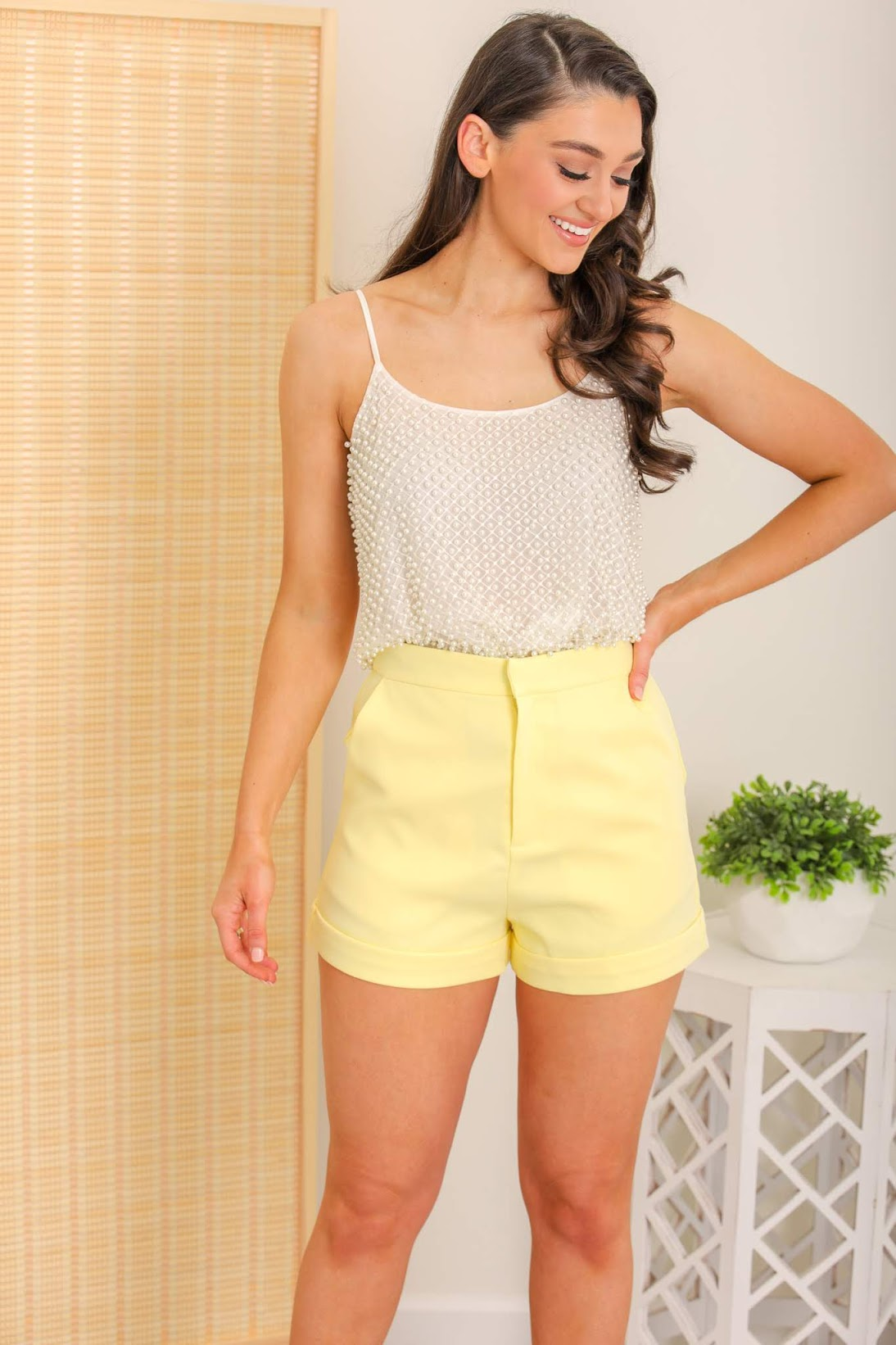 Lemon Sherbet Shorts