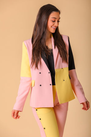 Corin Color Block Blazer