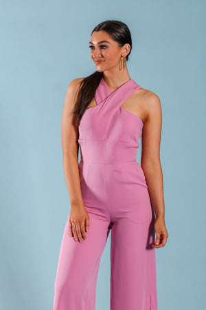 Veronica Pink Jumpsuit - Jumpsuits - Wight Elephant Boutique