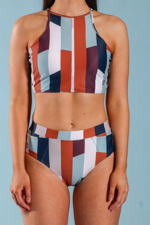 Camp Block Pocket Bikini Bottom - Swim - Wight Elephant Boutique