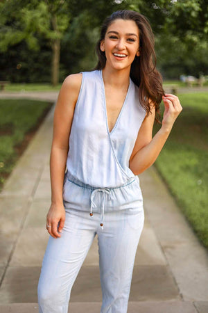 Lovin' You Chambray Jumpsuit