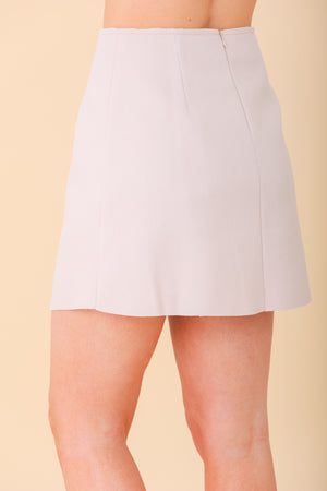 Uniquely You High Waisted Asymmestrical Mini Skirt - Skirts - Wight Elephant Boutique