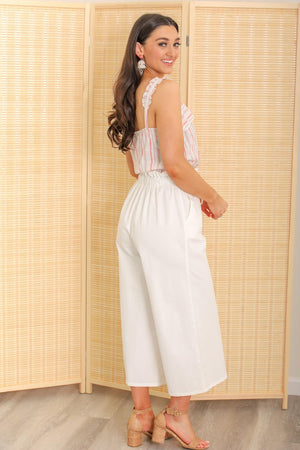 Rock It Out Paperbag Wide Leg Pant