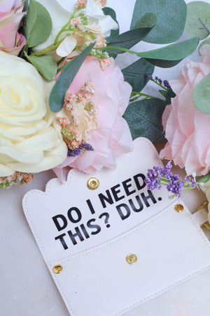 Do I Need This? - Duh! Scalloped Card Holder