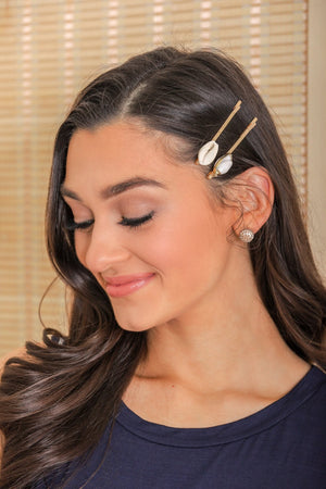 Island Treasure Shell Hair Pin Set