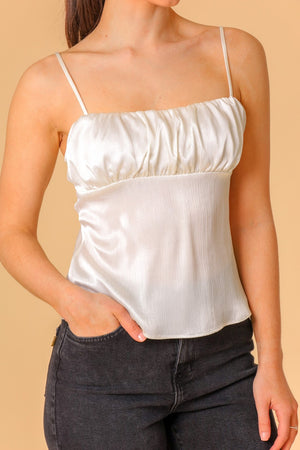 Water Lily Square Neck Cami Top
