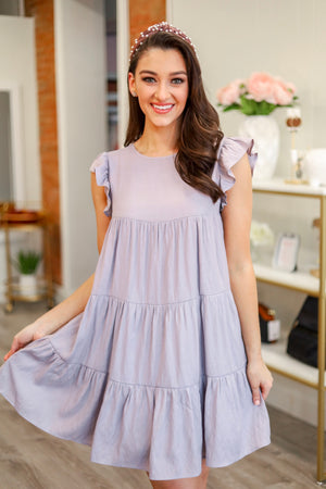 You're a Doll Ruffle Dress
