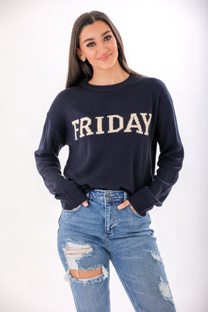 Friday Knit Sweater