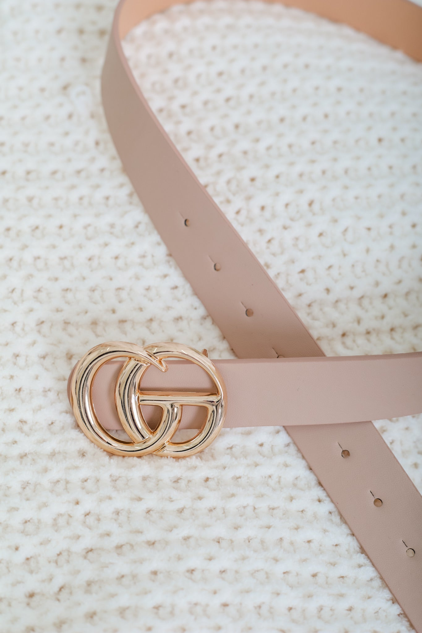 Gee We Love This Belt - Nude