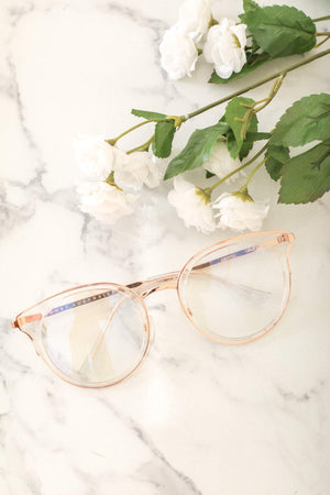 Quay Australia Cryptic Blue Light Glasses - Clear - Glasses - Wight Elephant Boutique