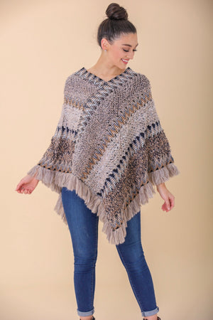 Come Together Patchwork Poncho