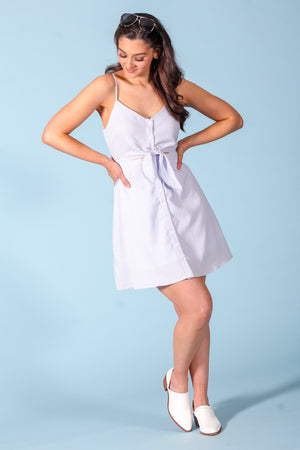 Favlux button down dress - Dresses - Wight Elephant Boutique
