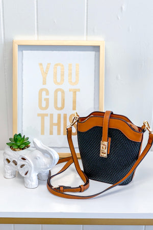 Ready For You Crossbody - Black