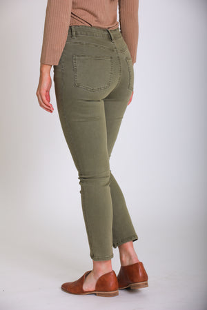 Made for You Cropped Jeans - Olive - Pants - Wight Elephant Boutique