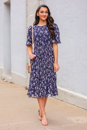 Fields in Bloom Midi Dress