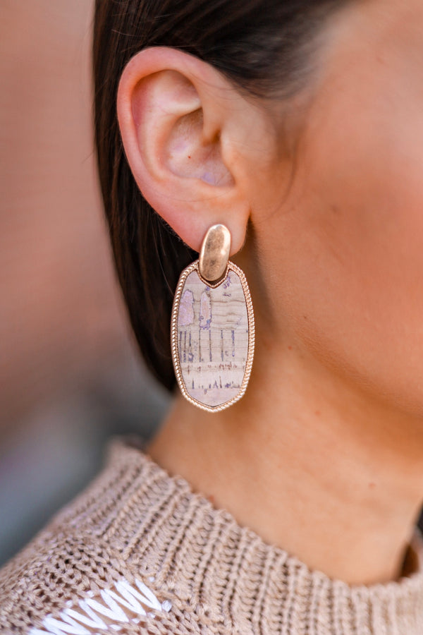 Always the Right Choice Cork Earrings - Earrings - Wight Elephant Boutique