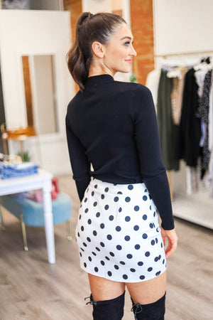 Classically Fun Polka Dot Skirt - Skirts - Wight Elephant Boutique