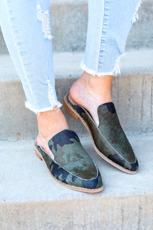 Volatile Atwood Camo Mule - Shoes - Wight Elephant Boutique