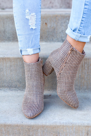 Band of Gypsies Andrea Boot - Jute Textured - Shoes - Wight Elephant Boutique