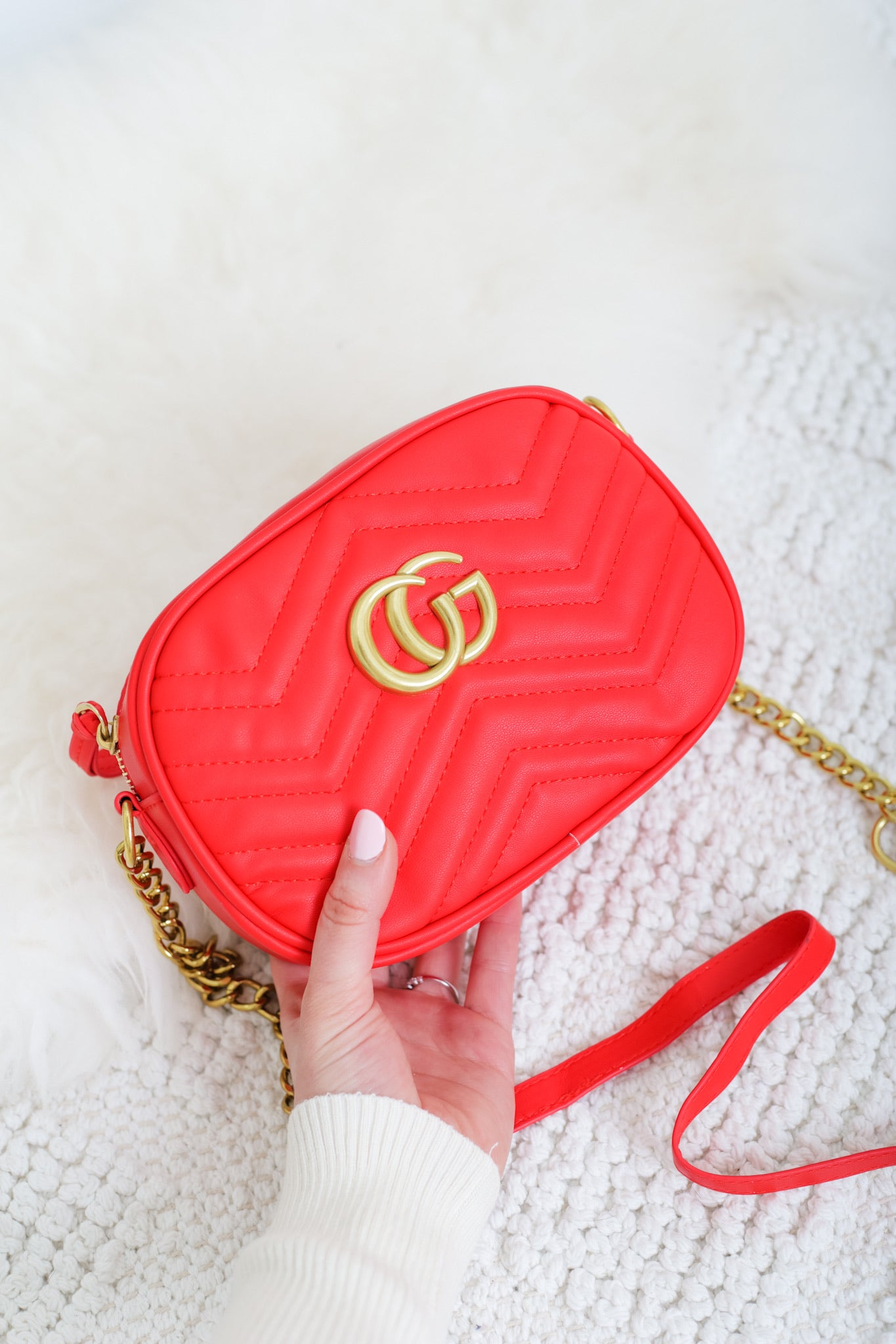 Gee We Love This Handbag - Red