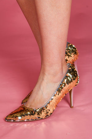 Ruthy Reversible Sequin Pump