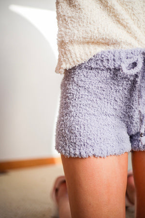 Softly Snuggly Berber Fleece Shorts - Shorts - Wight Elephant Boutique