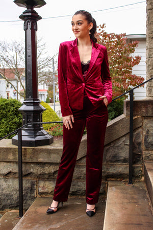 Touch of Class Velour Cami - sale - Wight Elephant Boutique