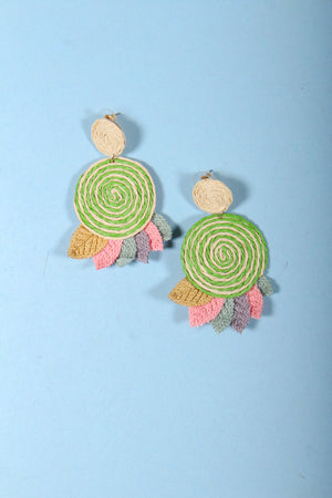 Pinwheel Fields Earrings