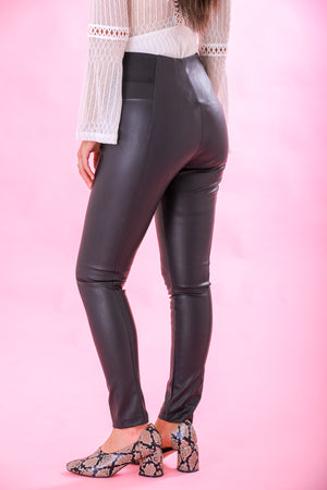 Up to the Task Faux Leather Leggings