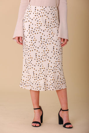 Real and Refined Printed Midi Skirt - Skirts - Wight Elephant Boutique