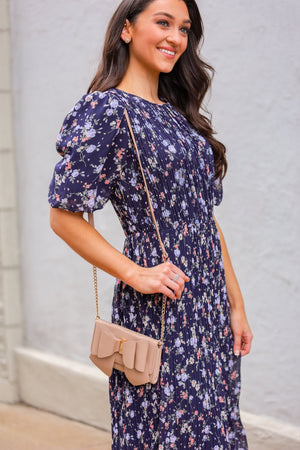 Fields in Bloom Midi Dress - Dresses - Wight Elephant Boutique