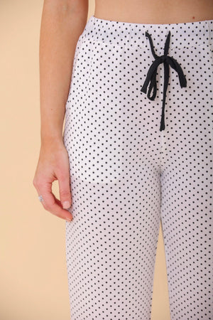 Lots of Dots Printed Pajama Pants - Pants - Wight Elephant Boutique