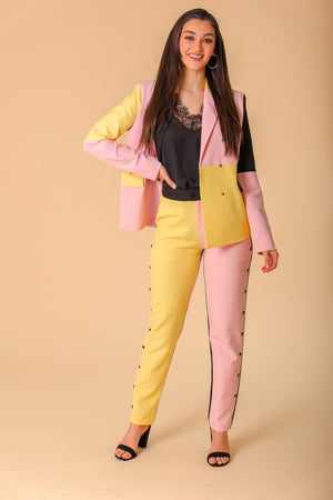 Corin Color Block Trousers