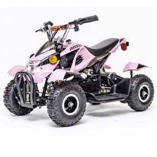 Rosso Motors Kids Sports ATV 4 Wheeler in Pink for Girls