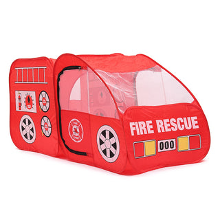 Fire Truck Kids Outdoor Playhouse