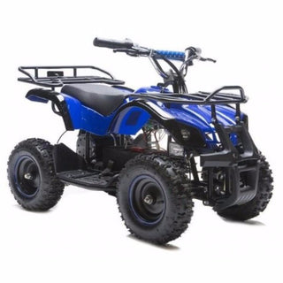 Rosso Motors Kids Utility ATV 4 wheeler Truck Navy Blue