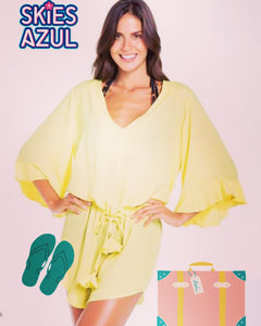 Beach Cover Yellow perfect for vacation and holidays