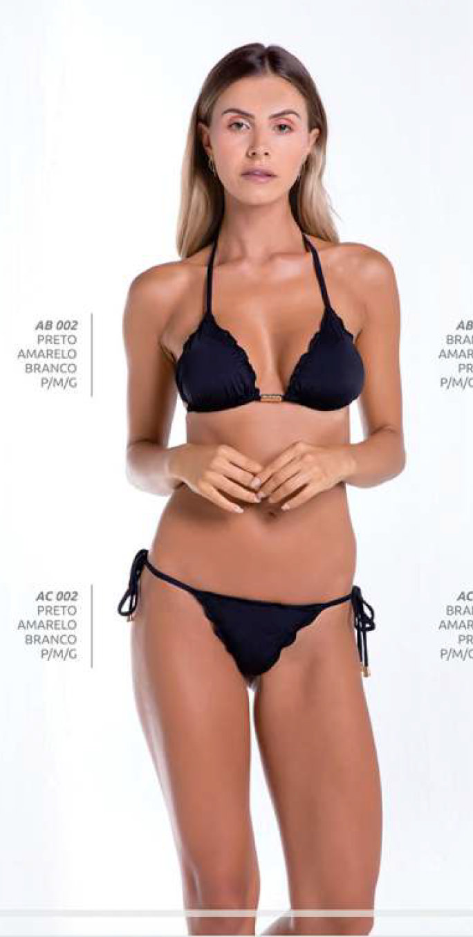 Triangle Top Bikini with Soft Pads