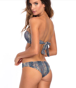 Bikini Top Mermaid - Skies Azul