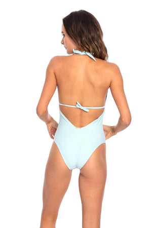 Swimsuit Monokini Sky Blue - Skies Azul